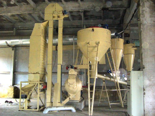 Feed Pelletizing Line