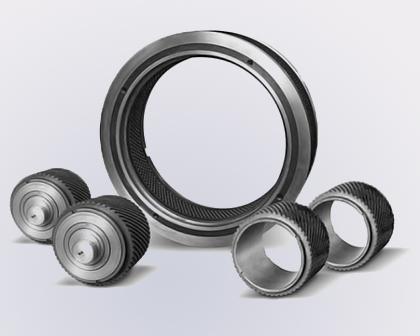 Spare parts for pellet presses